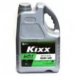 Cинтетическое моторное масло Kixx HD1 10W-40 (6л)
