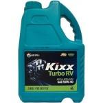 Cинтетическое моторное масло KIXX TURBO RV 10W-40 CI-4 (6л)