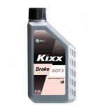 Тормозная жидкость KIXX BRAKE OIL SHD DOT-3 (0,5л)