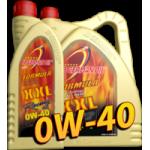 Синтетическое моторное масло Formula XXL, SAE 0W-40 1л