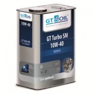 Полусинтетическое моторное масло GT Turbo SM 10w40 SM (6л)