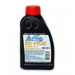 Тормозная жидкость Alpine Brake Fluid DOT 4 Plus (0.5)