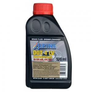 Тормозная жидкость Alpine Brake Fluid DOT 4 LV (0.5)