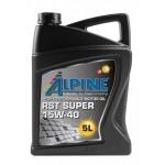 Минеральное моторное масло Alpine RST Super 15W-40 (5)