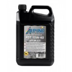 Минеральное моторное масло Alpine RST 15W-40 (5)