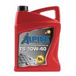 Полусинтетическое моторное масло Alpine TS 10W-40 (5)