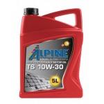 Полусинтетическое моторное масло Alpine TS 10W-30 (5)
