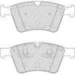 Тормозные колодки передние MERCEDES X164 GL-KLASA 06- Lucas GDB1797