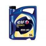 Минеральное моторное масло Elf SPORTI TXI 15W-40 (5)