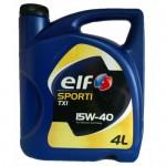 Минеральное моторное масло Elf SPORTI TXI 15W-40 (4)