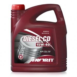 Favorit Diesel CD SAE 15W-40 (5 л)