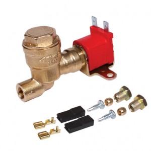 Электромагнитный клапан газа Tomasetto вход Ø6 (М10х1) выход Ø6 (М10х1)