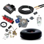 Комплект газового оборудования Stag-4 QBox с тороидальным баллоном (под запаску)