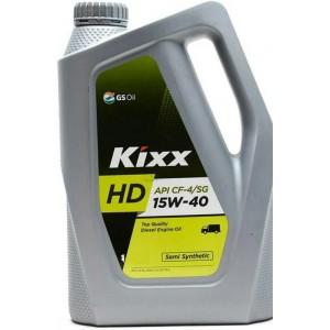 Полусинтетическое моторное масло КІХХ HD CG-4 15W-40 (6)