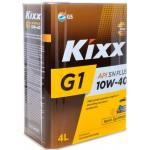 Cинтетическое моторное масло KIXX G1 10W40 (4)
