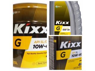 Полусинтетическое моторное масло Kixx G SL 10W-40
