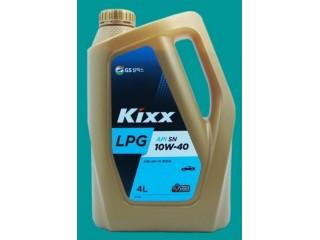 Полусинтетическое моторное масло KIXX LPG 10w40 4 л