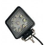 Светодиодная фара (LED) Лидер 27W квадратная ФЛ-009