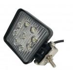 Светодиодная фара (LED) Лидер 27W квадратная ФЛ-008