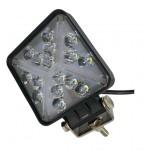 Светодиодная фара (LED) Лидер 48W квадратная с поворотом ФЛ-045