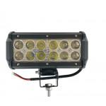 Светодиодная фара (LED) Лидер 36W прямоугольная ФЛ-003