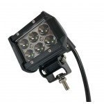 Светодиодная фара (LED) Лидер 18W прямоугольная ФЛ-085