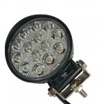Светодиодная фара (LED) Лидер 42W круглая ФЛ-080