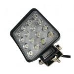 Светодиодная фара (LED) Лидер 48W квадратная ФЛ-081