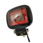 Светлодиодная фара (LED) Лидер 45W СТГ прямоугольная red ФЛ-324
