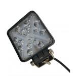 Светодиодная фара (LED) Лидер 48W квадратная с ДХО ФЛ-044