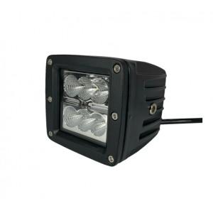 Светодиодная фара (LED) Лидер 30W прямоугольная ФЛ-017