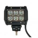 Светодиодная фара (LED) Лидер 18W прямоугольная ФЛ-005