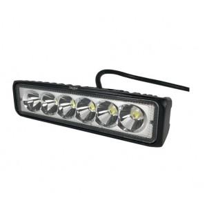 Светодиодная фара (LED) Лидер 18W узкая ФЛ-027