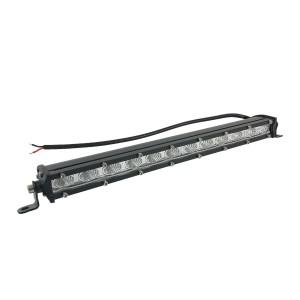 Светодиодная LED балка 36W 12 диодов ближний свет однорядная БЛ-008