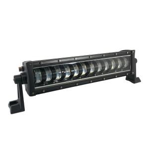 Светодиодная LED балка 60W 12 линз СТГ с габаритами ближний свет БЛ-301