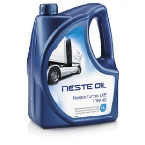 Синтетическое моторное масло NESTE Turbo LXE 10W-40 (4)