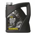 Синтетическое моторное масло MANNOL О.Е.М for Renault Nissan 5W-30 (5)