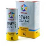 Полусинтетическое моторное масло Verylube 10W-40 SL/CI-4 (1)