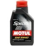Motul Specific 505.01 502.00 505.00 5w40 (1л)