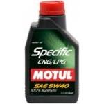 Motul Specific CNG/LPG 5w40 (1л)