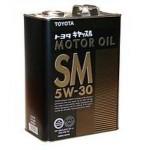 TOYOTA Motor Oil SM 5W-30 (4л.) ORIGINAL