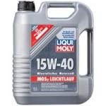Минеральное моторное масло LIQUI MOLY MoS2 Leichtlauf Super MOTOROIL MoS2 15W-40 HD (4)