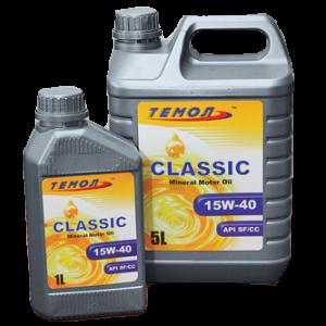 Минеральное моторное масло TEMOL CLASSIC SAE 15W-40 (1)
