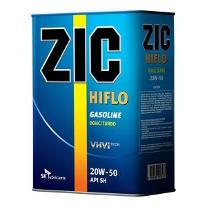Минеральное моторное масло ZIC HIFLO SAE 20W50 CH/GF-4 (4)