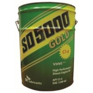 Минеральное моторное масло ZIC SD 5000 SAE 15W40 CF-4/SG (20)