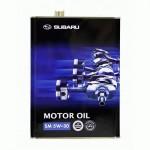 Оригинальное масло SUBARU MOTOR OIL SM 5W30 (4)