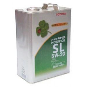 Оригинальное масло TOYOTA MOTOR OIL SL 5W20 (4)