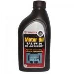 Оригинальное масло TOYOTA MOTOR OIL SM 5W30 (1)