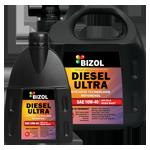 Полусинтетическое моторное масло BIZOL DIESEL ULTRA 10W-40 (5)