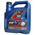 Полусинтетическое моторное масло Elf Turbo Diesel 10W-40 (5)
